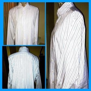 Banana Republic Men's Long Sleeve Dress Shirt XL
